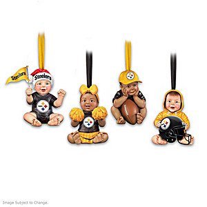 Pittsburgh Steelers Baby Christmas Ornament Collection