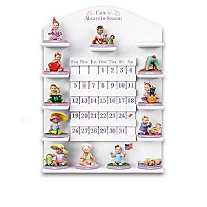 Cute Is Always In Season Perpetual Calendar And Baby Figures