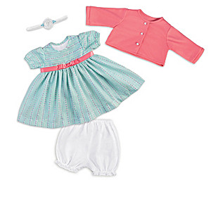 """Clothing And Accessory Collection For 17"""" - 19"""" Baby Dolls"""