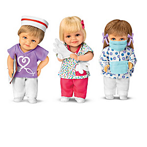 "Cheryl Hill ""Nurses: Frontline Heroes"" Mini Doll Collection"