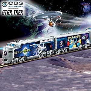 STAR TREK Illuminated Train Collection With Spock Car