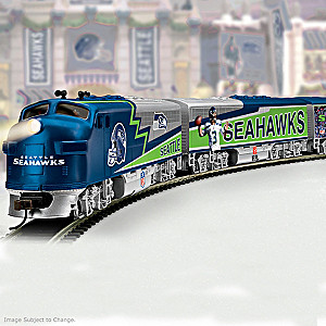 """Seattle Seahawks Express"" Train Collection"