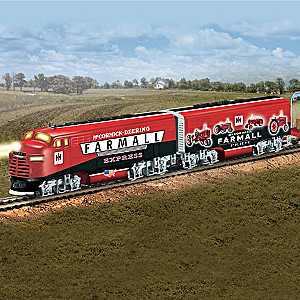 """Farmall Delivers Express"" Illuminated Electric Train"