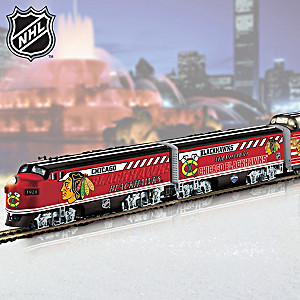 """Blackhawks® Express"" Stanley Cup® Illuminated Train"