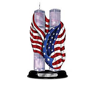 Patriotic Sculptures Honor Anniversary of September 11