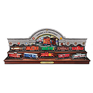America's Greatest Cabooses HO-Scale Train Car Collection
