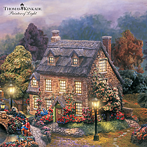 Thomas Kinkade Illuminated Lamplight Village Collection