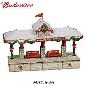 Budweiser Express Railroad Train Accessory Collection