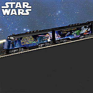 Glow-In-The-Dark STAR WARS Train Features Commissioned Art