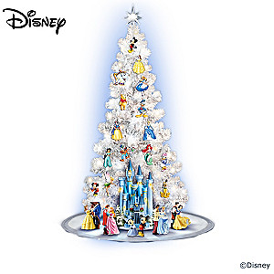 the magic of disney illuminated christmas tree collection - Disney Christmas Tree