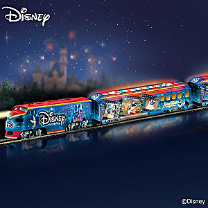 """Disney Movie Magic Express"" Illuminated Train Collection"