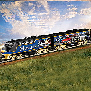 """Chevrolet """"Muscle Car Express"""" Illuminated Electric Train"""