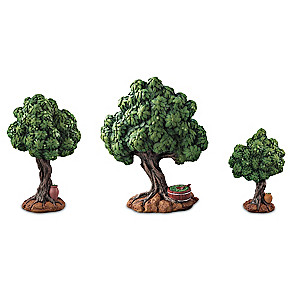"""""""Trees Of Life"""" Accessory Collection For Nativity Display"""