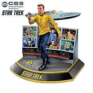 "The ""Legends Of STAR TREK"" Character Sculpture Collection"
