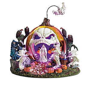 Haunted Pumpkin Illuminated Sculpture Collection