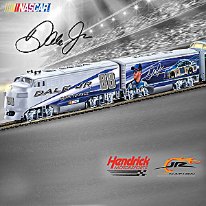 Dale Jr. HO-Scale Illuminated Electric Train Collection