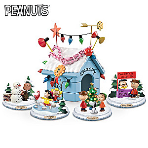PEANUTS Very Merry Christmas Lighted Sculpture Collection