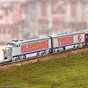Clemson Train With 2018 Football National Champions Car