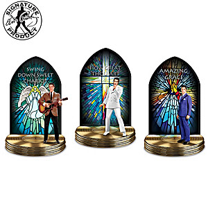 Elvis: The Gospel Truth Musical Sculpture Collection