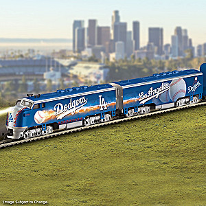 Dodgers World Series Champions Train Collection