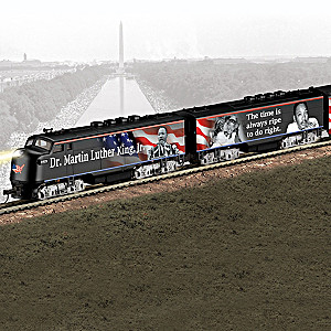 """""""I Have A Dream"""" Illuminated Electric Train Collection"""