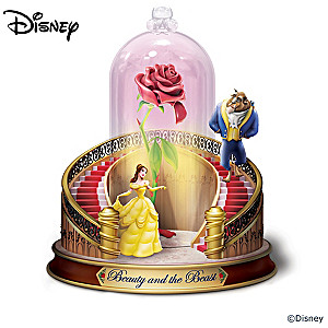 Disney Beauty And The Beast Lit Musical Figurine Collection