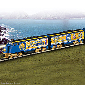 Warriors NBA Finals Champion Express Train Collection