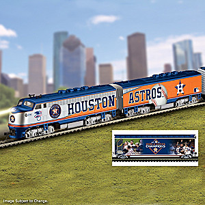 Astros World Series Champions Electric Train Collection