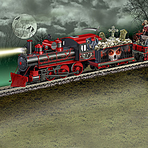 """The Horror Express"" Glow-In-The-Dark Train Collection"