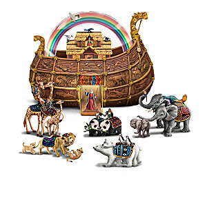 Noah And The Ark Sculpture Collection