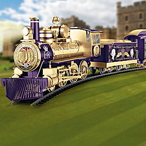 Queen Elizabeth II Illuminated Electric Train Collection