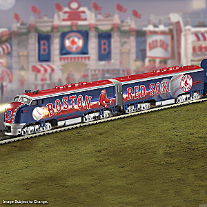 Red Sox World Series Champions Train Collection