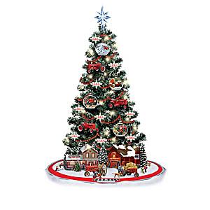 Heartland Treasure FARMALL Christmas Tree Collection