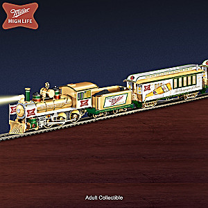 """Miller High Life Express"" Illuminated Electric Train"