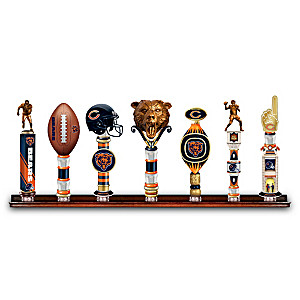 Bears Vintage-Style Sculpted Tap Handles With Display