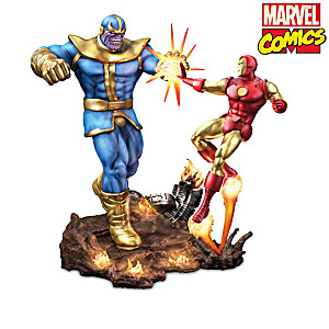"MARVEL Comics ""Ultimate Battles"" Illuminated Sculptures"