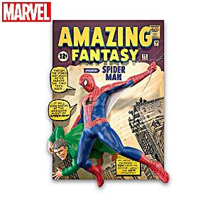 MARVEL 3D Vintage Comic Book Cover Sculptures