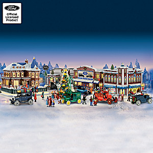 "Ford ""Main Street Memories"" Christmas Village Collection"