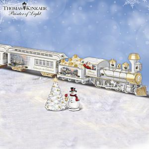 Thomas Kinkade Decorative Porcelain Train Collection