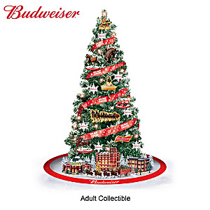 "Budweiser ""Holiday Cheers"" Christmas Tree Collection"