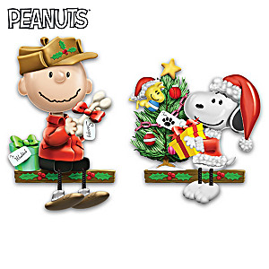 The PEANUTS Christmas Shelf Sitter Collection
