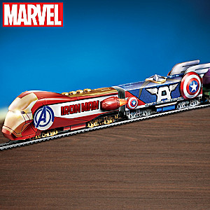 "MARVEL Avengers ""Rise Of Heroes"" Illuminated Electric Train"