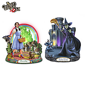 THE WIZARD OF OZ Illuminated Musical Sculpture Collection