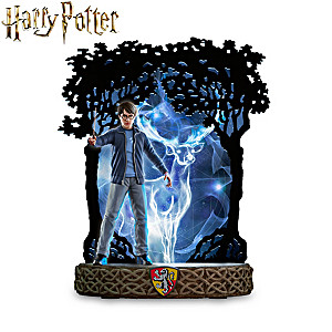 HARRY POTTER Illuminated Patronus Sculpture Collection