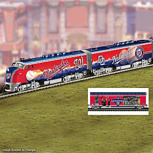 Nationals World Series Champions Train Collection
