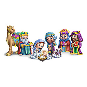 """""""The First Christmas"""" Children's Nativity Collection"""