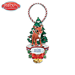 """Rudolph And Friends"" Holiday Hangers"