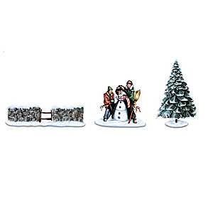"""""""Winter Charms"""" Village Accessory Collection"""
