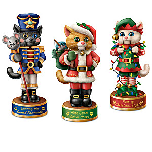 """A Meowwy Little Christmas"" Cat Nutcracker Collection"