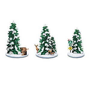 """Seasonal Splendor"" Sculpted Tree Accessory Collection"